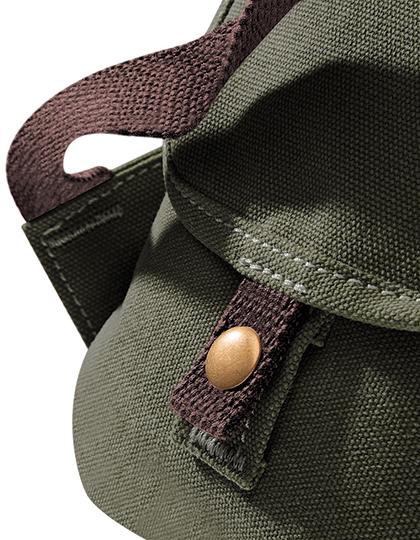 aff4af19f L-SHOP-TEAM | Svenska | Vintage Canvas Backpack